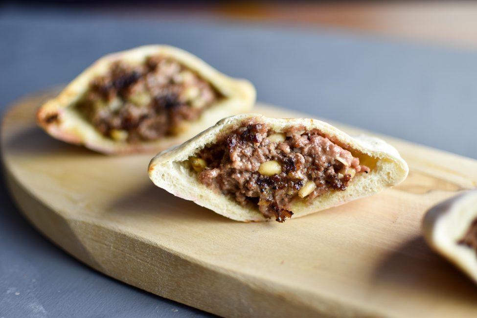 Arajes (pita gehakt tosti's uit TLV)