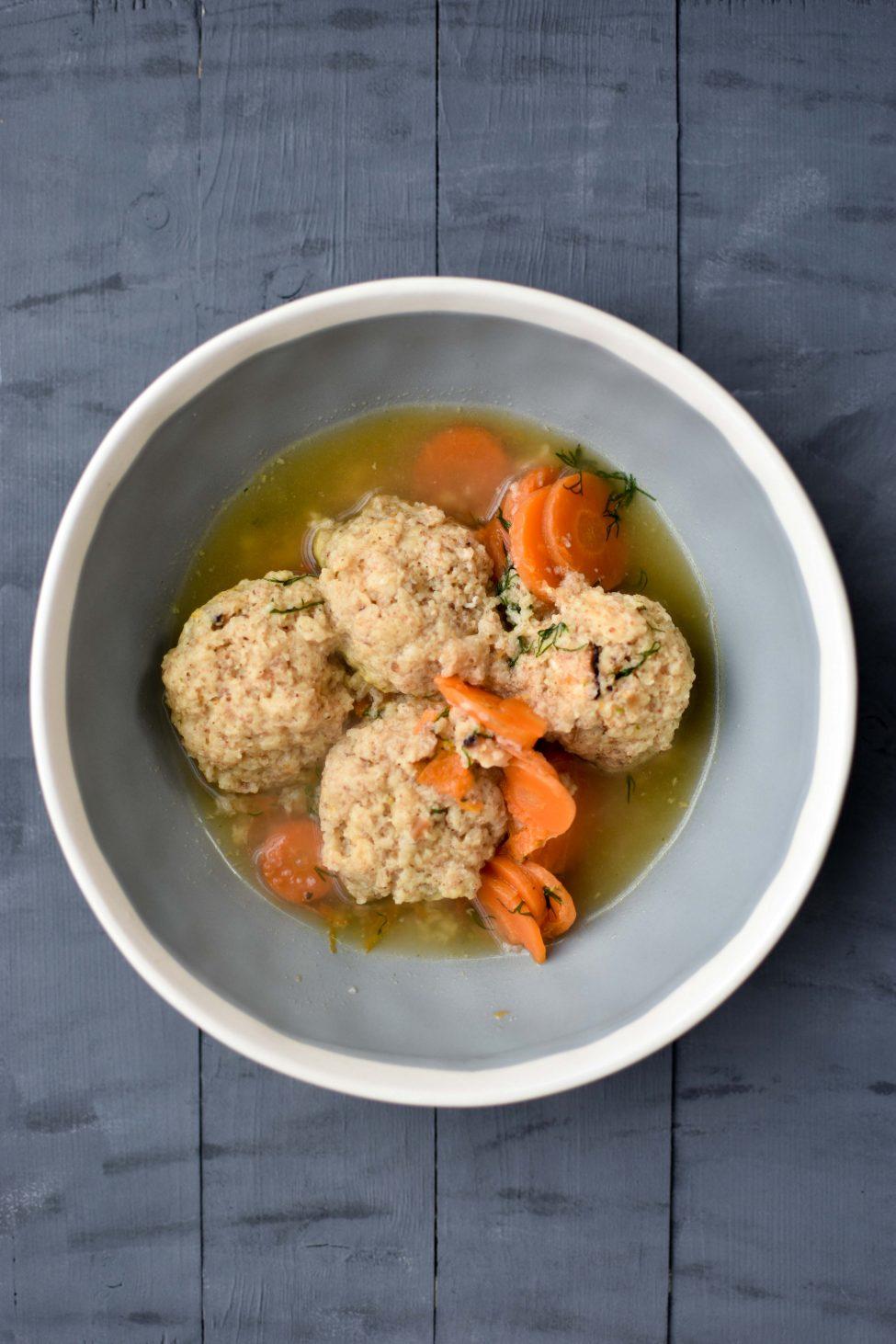 Matzeballen soep