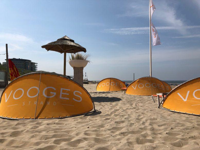 strandbedjes Vooges Strand