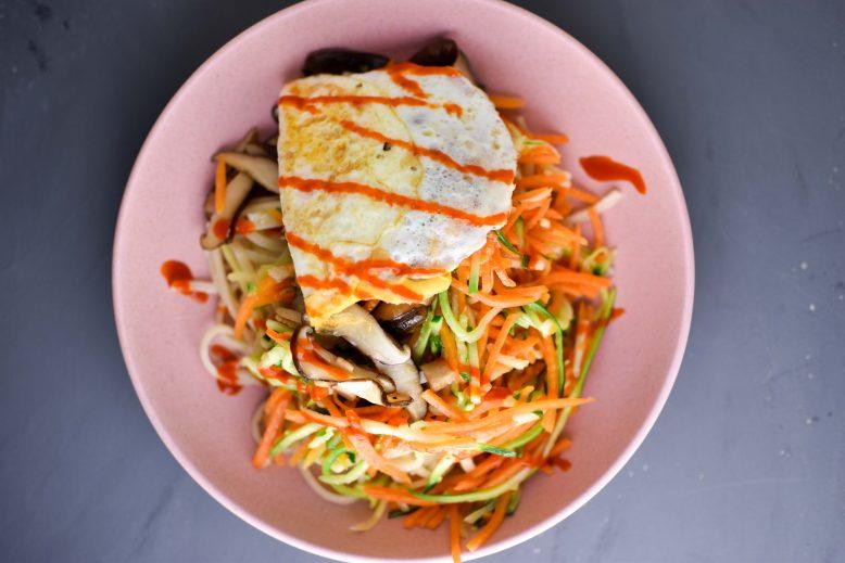 recept bibimbap extra veel groente