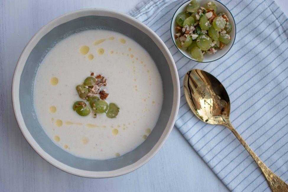 Ajo blanco (koude amandelsoep of witte 'gazpacho')