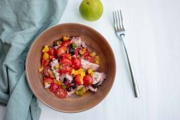 Spaanse octopus salade