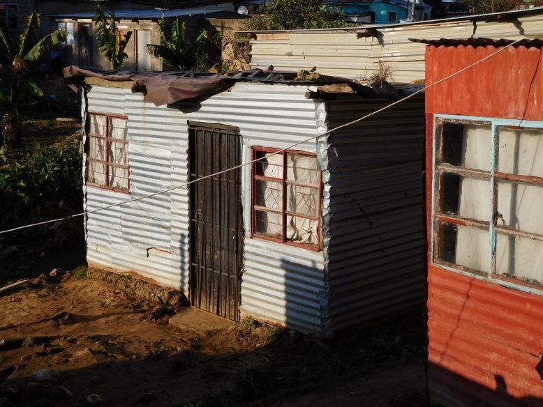 Een van de townships van Durban: Umlazi
