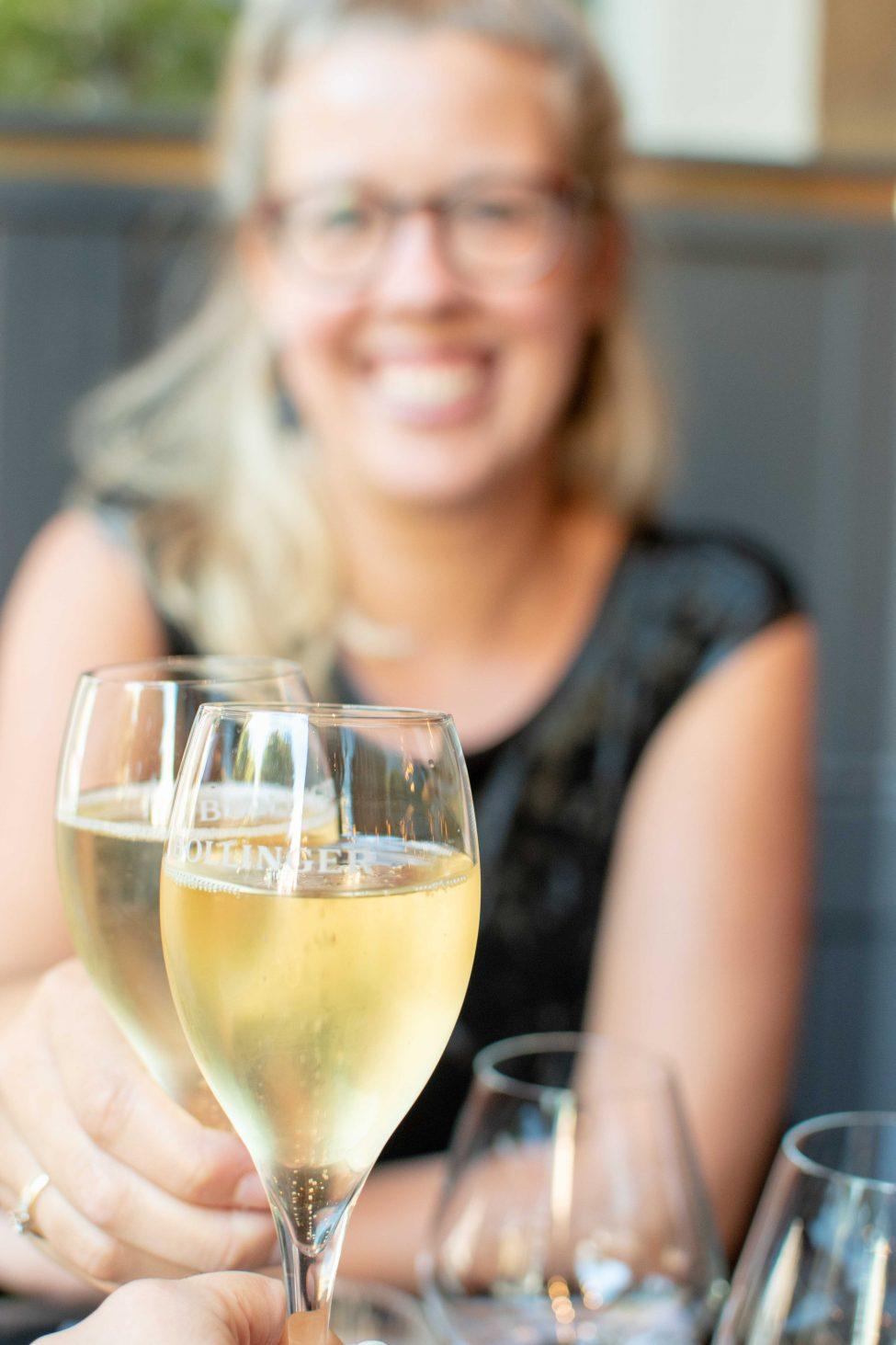 Oesters en champagne op vrijdag bij Café Americain