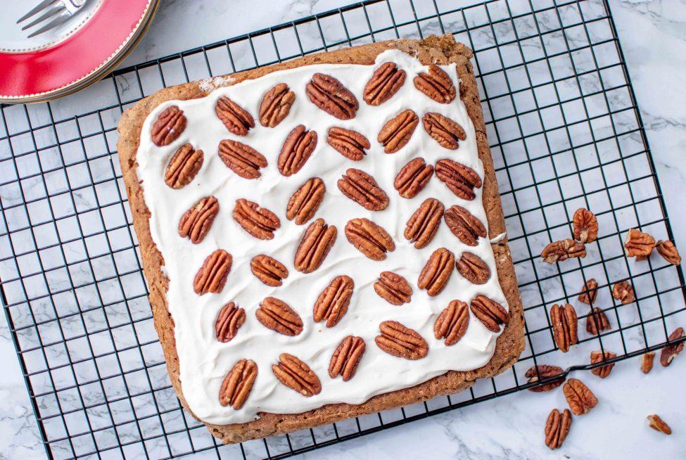 Gezonde worteltaart (carrot cake – de gezondere variant!)