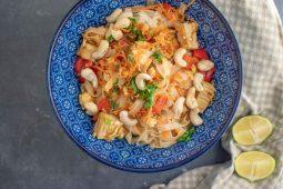Vegetarisch pad thai recept met tofu