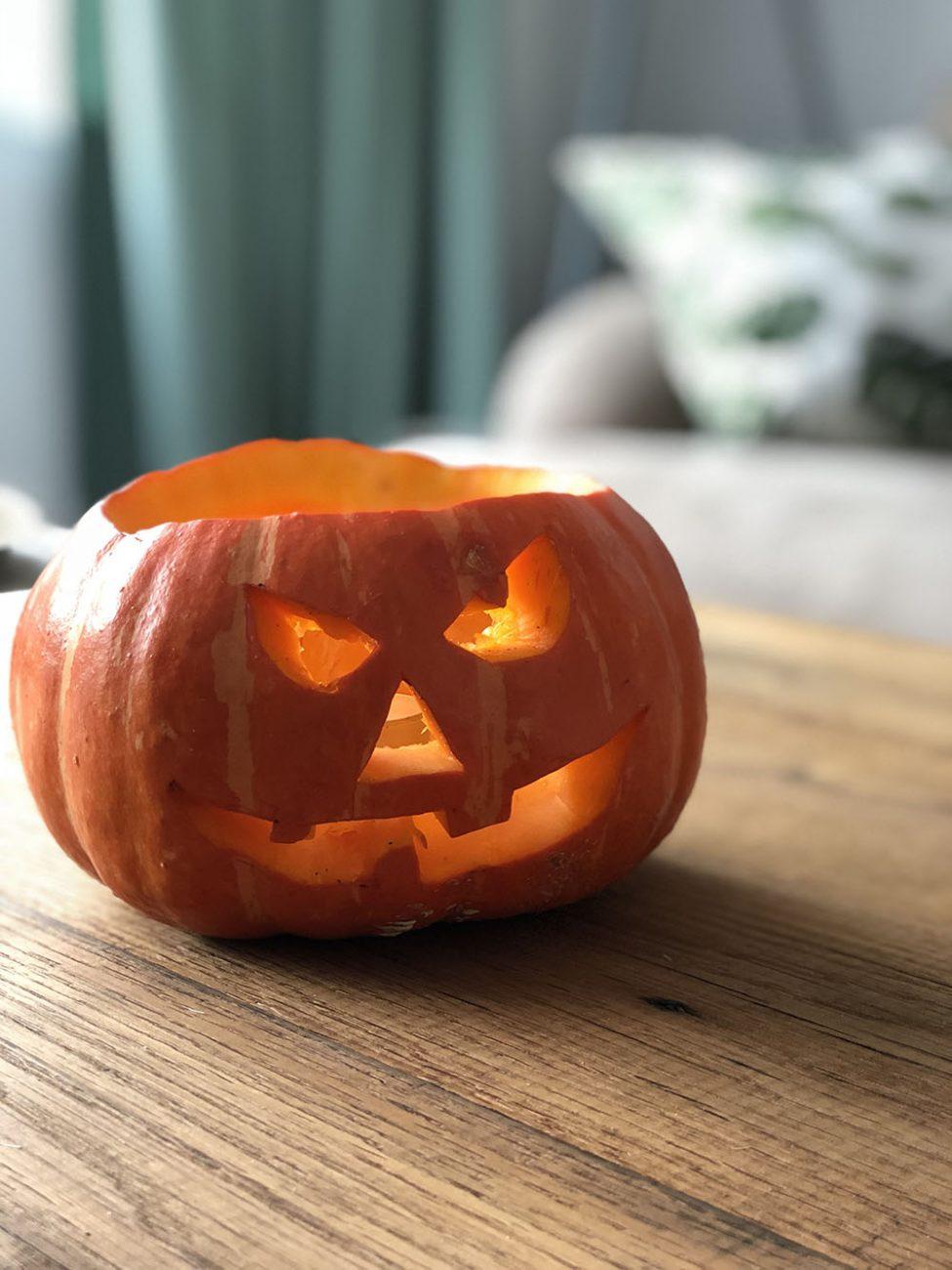 Hoe Maak Je Een Halloween Pompoen.Halloween Pompoen Maken Hoe Doe Je Dat My Food Blog