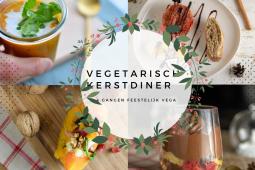 Kerstmenu voor een vegetarisch kerstdiner