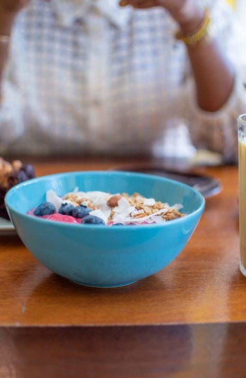 pithaya bowl bij Coffee Cabana