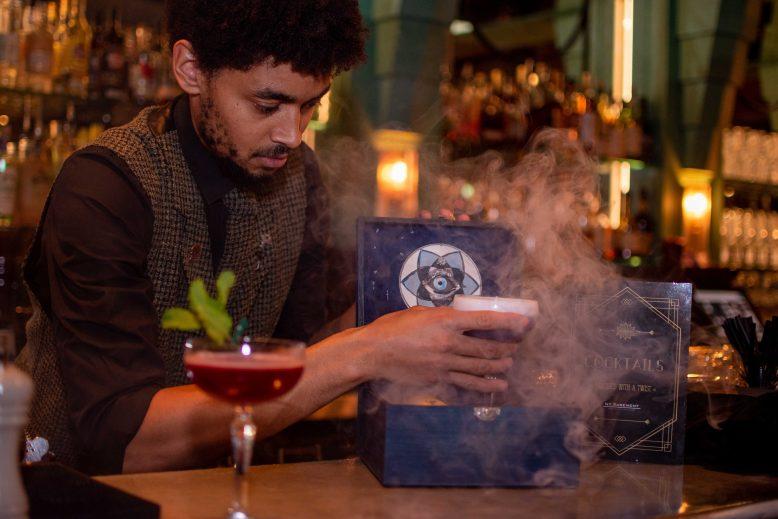 cocktail drinken bij hotel new york