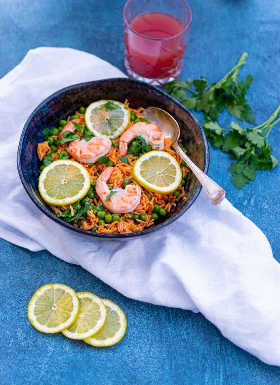 snelle paella met Tilda rijst