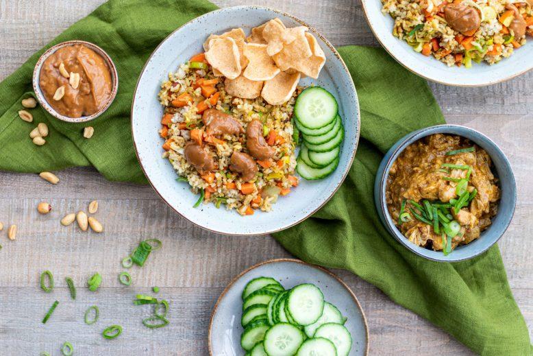 vegetarische nasi goreng
