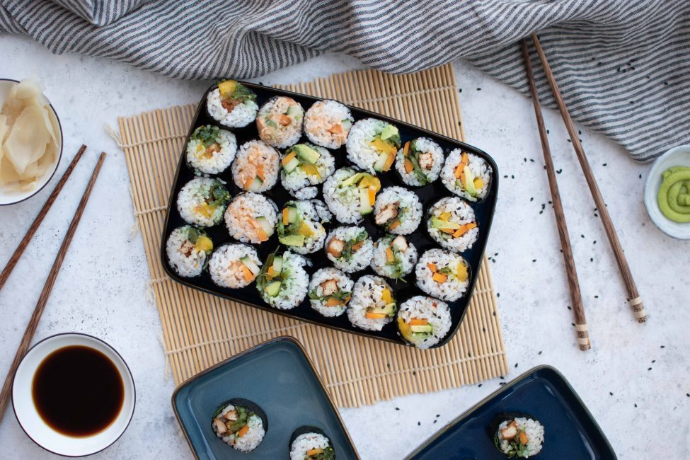 Vegetarische sushi maken: zo doe je dat!